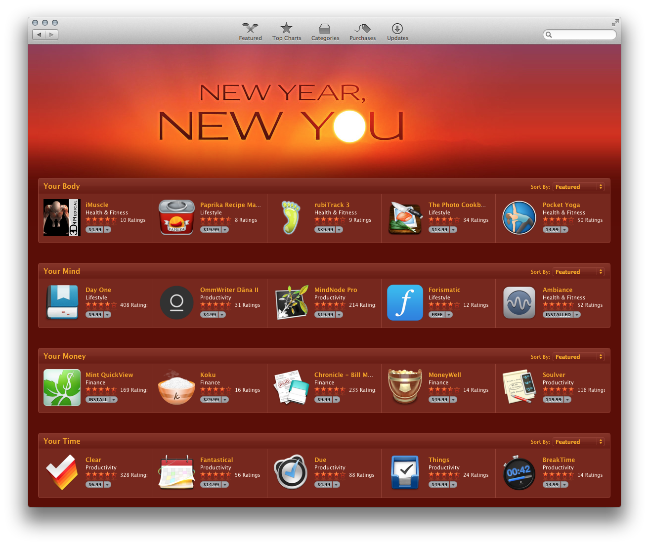 Ambiance for Mac Featured on Mac App Store